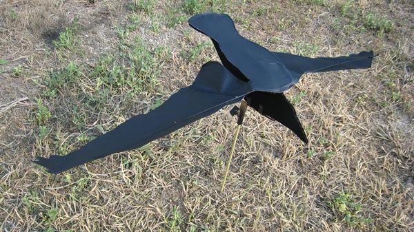 how to make homemade crow decoys