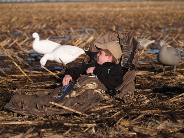Prairiewind Decoys Youth Power Hunter Blind Av01466 By