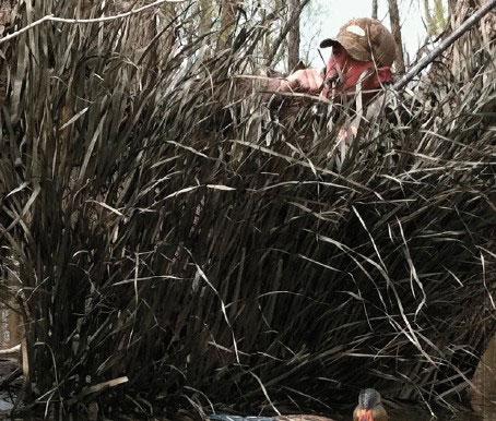 Prairiewind Decoys Real Grass Mats Timber Grass Brown