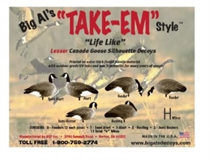 Picture of Lesser Canada Goose Silhouettes by Big Al's Decoys