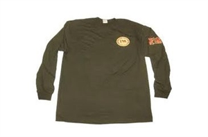 Picture of Long Sleeve T-Shirt Color-Olive by Final Approach