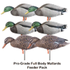 Picture of Pro-Grade Full Body Mallard Feeder 6 pack (AV72115) by Greenhead Gear GHG Avery Outdoors