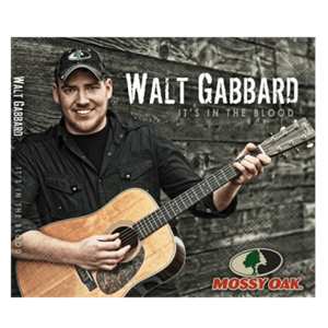 "Picture of Walt Gabbard's CD - ""It's in the Blood"""