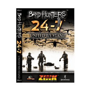 Picture of Band Hunters Vol 4 United We Stand DVD by Zink Calls