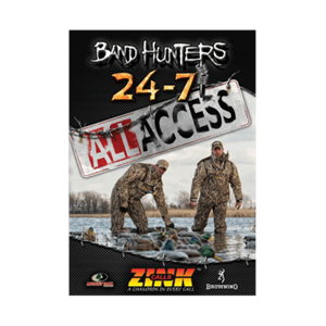 """Picture of Band Hunters Vol 5 """"All Access"""" DVD by Zink Calls"""