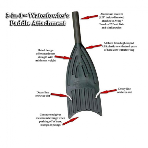Prairiewind Decoys 3 In 1 Waterfowlers Paddle Attachment