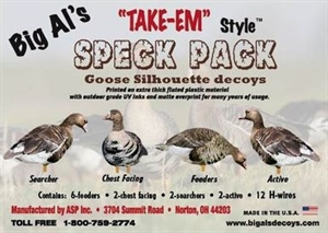 Picture of Speck Silhouette Decoys by Big Al's Decoys