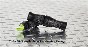 Picture of **FREE SHIPPING** Naughty by Nature (NBN) Short Reed Canada Goose Call by Zinks Calls