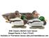 Picture of **FREE SHIPPING**  Pro-Grade January Mallard Duck Decoys Sleeper/Rester 6pk (AV73162) by Greenhead Gear GHG Avery