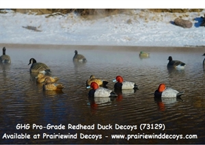 Picture of **SALE** Pro-Grade Redhead Duck Decoys 6 pk. (AV73129) by Greenhead Gear GHG Avery Outdoors