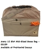 Picture of 12-Slot Mid-Size Full Body Goose Decoy Bag (AV00159) Field Khaki by Avery Outdoors Greenhead Gear GHG