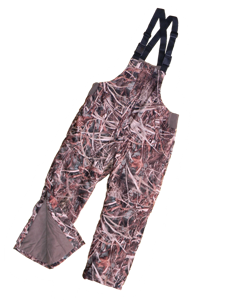 Picture of Insulated Bibs in Wildgrass camo (935WG) by Wildfowler Outfitter