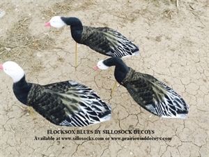 Picture of **FREE SHIPPING** FlockSox Blue Goose Decoys - Harvester 12pk  (SS1036FS) by Sillosock Decoys