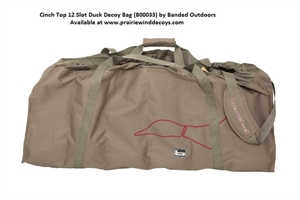 Picture of Cinch Top Duck Decoy Bag - 12 Floating Duck Decoy Bag by Banded Outdoors