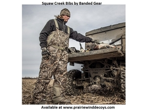 Picture of **FREE SHIPPING** Squaw Creek Bibs -INSULATED- by Banded Gear