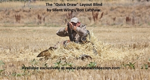 "Picture of **SALE** The ""Quick Draw"" Layout Blind by Silent Wings/Ron Latshaw"