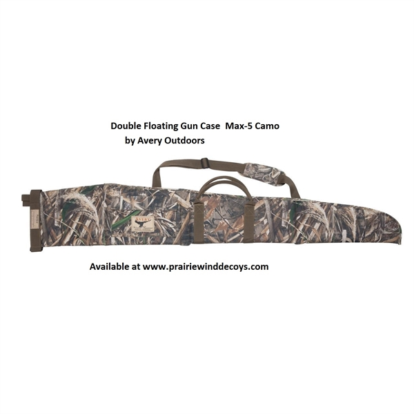 Prairiewind Decoys Double Floating Shot Gun Case By Avery