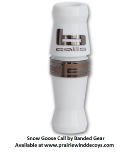 Picture of White Snow Goose Call by Banded Outdoors