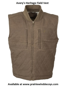 Picture of **FREE SHIPPING** Heritage Field Vest by Avery Outdoors
