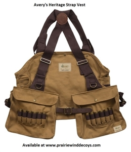Picture of **FREE SHIPPING** Heritage Strap Vest by Avery Outdoors