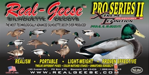 Picture of **SALE*** Pro Series II  Extreme Mallard Silhouette Duck Decoys by Real Geese Decoys