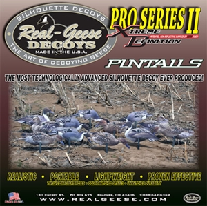 Picture of **SALE*** Pro Series II  Extreme Pintail Silhouette Duck Decoys by Real Geese Decoys