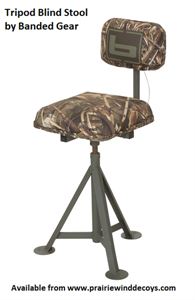 Picture of **FREE SHIPPING** Tripod Blind Stool by Banded Gear