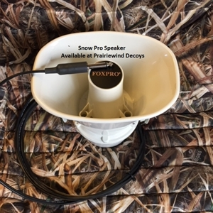 Picture of Extra Speaker (WHITE) for Snow Pro by Foxpro