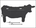 Picture of Confidence Cow -EZ Stake Leg Kit  CC-EZS08