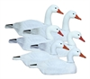 Picture of **FREE SHIPPING** Standard Half Shell Snow or Blue Goose Decoys 6pk by Higdon Decoys