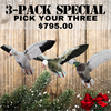 Picture of **Spring Special** Clone Decoys 3 Pack- Limited Time Special