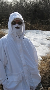 Picture of Waterproof Parkas, Bibs, and Pants (Blades Camo) by Wildfowler Outfitter.
