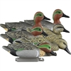 Picture of **FREE SHIPPING** Standard Green Wing Teal 6pk by Higdon Decoys