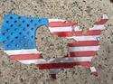 Picture of Custom America Outline Turkey