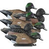 Picture of **FREE SHIPPING** Standard Wigeon Duck Decoys 6pk by Higdon Decoys