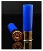 """Picture of Cheddite 12ga Hulls, Blue,  3"""", 25mm Brass, Primed, Skived (100/bag)"""